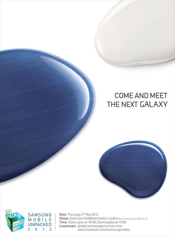 Galaxy SIII invite