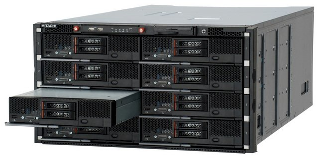 Hitachi's Compute Blade 500 chassis