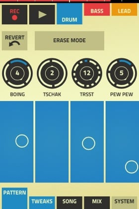 Propellerhead Figure iOS app screenshot