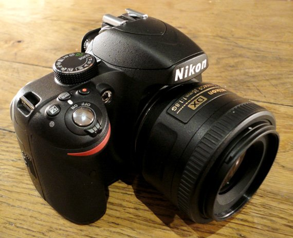 Nikon D3200 DSLR camera