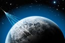Cosmic rays hitting Earth