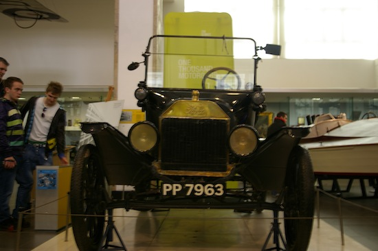Ford Model T at Science Museum, credit The Register