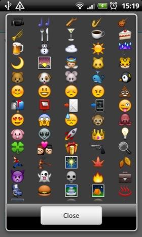 Android app Textgram screenshot