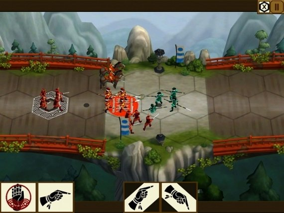 Total War Battle: Shogun Android/iOS game screenshot