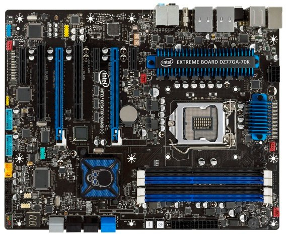 Intel DZ77GA-70K motherboard