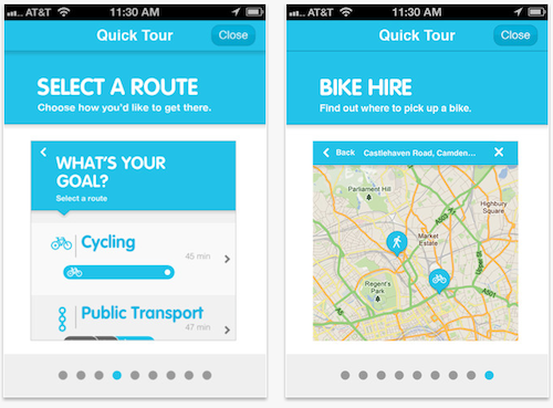 ReRoute app, screengrab iTunes