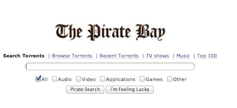 The Pirate Bay : i server nascosti