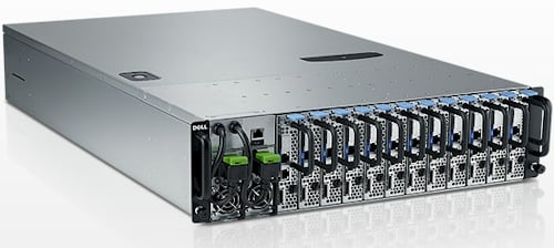 Dell's Viking PowerEdge C5000 microserver chassis