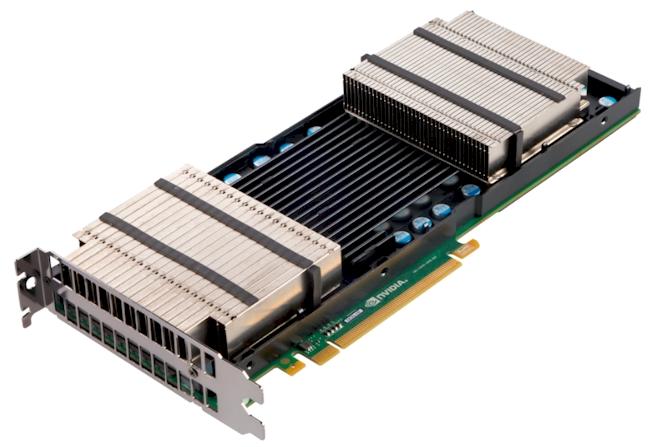 Nvidia's Tesla K10 GPU coprocessor