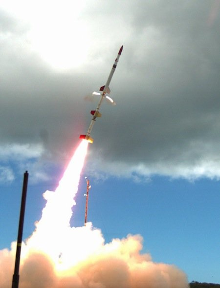 Launch of HIFire hypersonic jet, credit AFRL