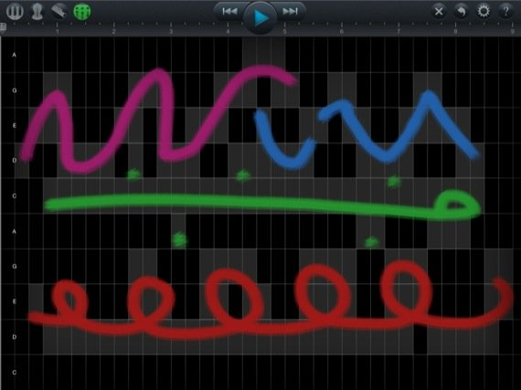 SoundBrush iOS app screenshot