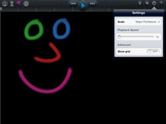 SoundBrush iOS app screenshot