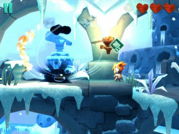Lost Winds 2 iOS game screenshot