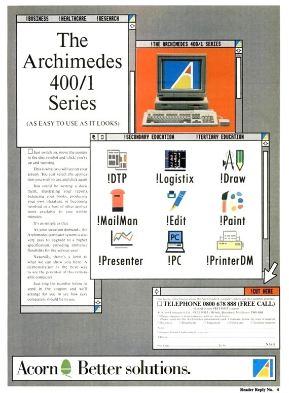 Advertising Risc OS. Source: Wikimedia