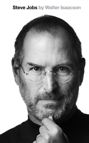 Steve Jobs biog image, credit Simon and Schuster