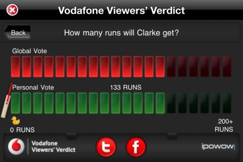 VHA's Cricket Live Australia app