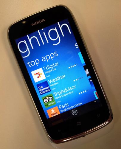 Nokia Lumia 610 Windows Phone 7
