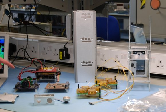 Bits and pieces of the STRaND-1 nanosatellite