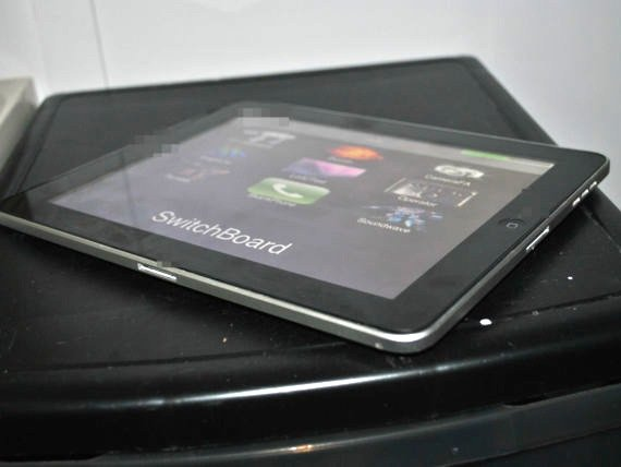 Dual-dock iPad prototype