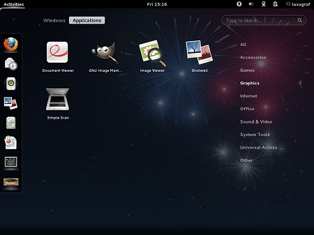 fedora17-gnome3-appscreen
