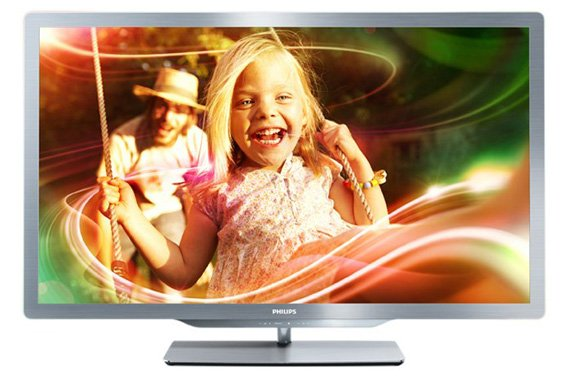 Philips 47PFL7666 Ambilight Freeview HD TV