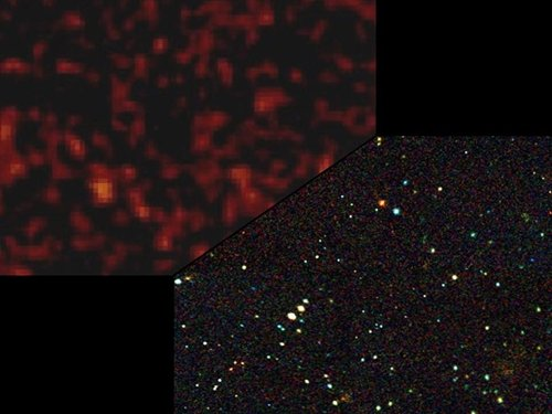 NASA before and after x-ray sky map