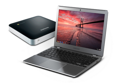 New Samsung Chrome OS laptop and desktop