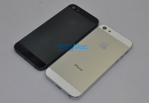 iPhone 5 leaked body shots