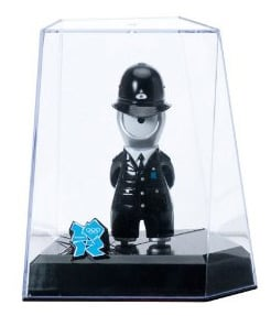 The Wenlock policeman figurine