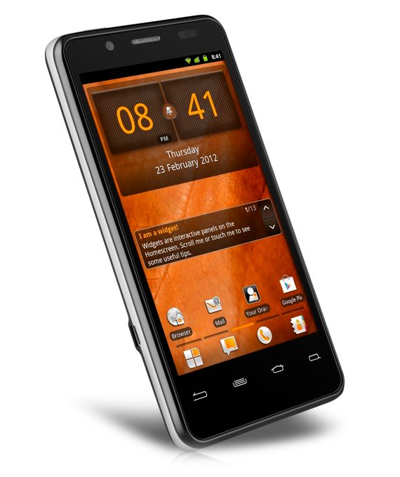 Orange San Diego Intel Atom smartphone