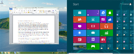 Windows 8 multi monitor