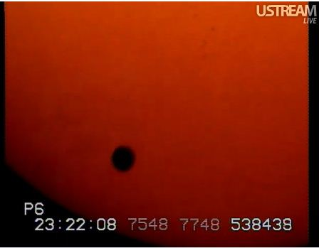 transit of venus 2012