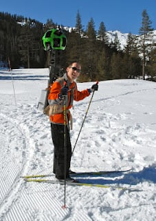 Google skiing camera