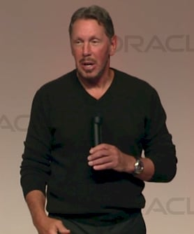 Oracle CEO Larry El
