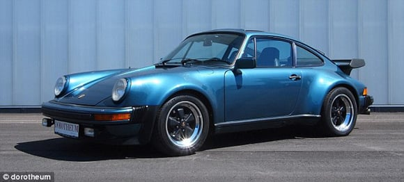1979 Porsche 911 Turbo once owned by Bill Gates