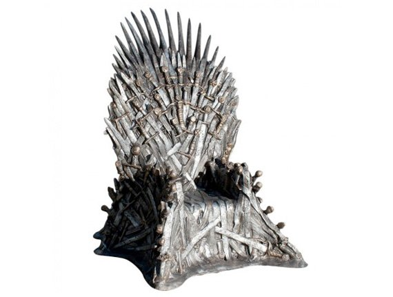 Game of Thrones, official Iron Throne replica