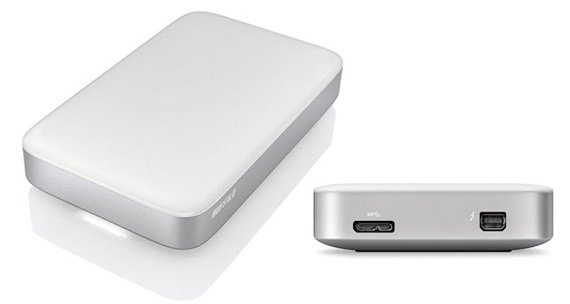 Buffalo MiniStation Thunderbolt/USB Portable Hard Drive