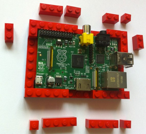 Biz's Raspberry Pi Lego case