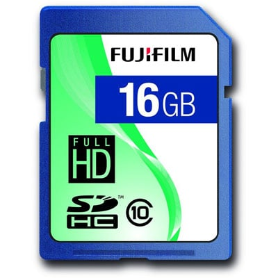 Fujifilm SDHC Class 10