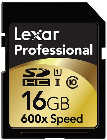 Lexar Professional 600X UHS-I