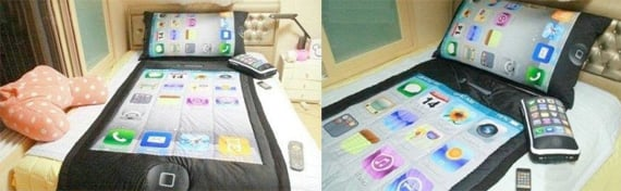 iPhone duvet set