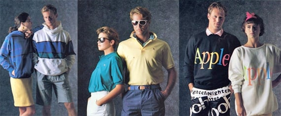 Apple 1986 clothing collection