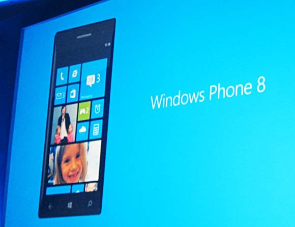 Windows Phone 8 presentation slide