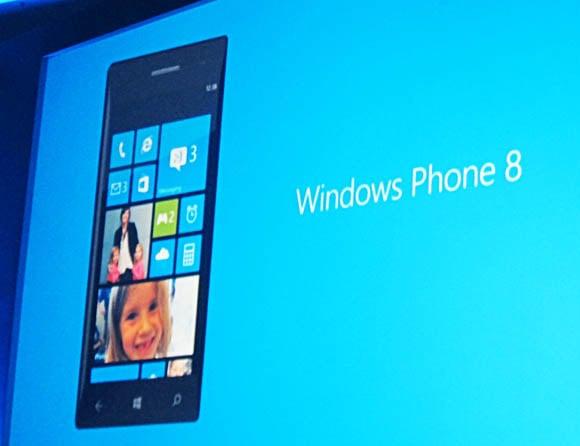 Windows Phone 8 presentation slide