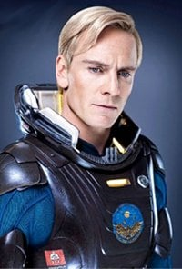 Promo pic of Michael Fassbender as Android David in the sci-fi film Prometheus