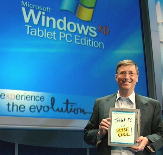 Gates intros Tablet PC