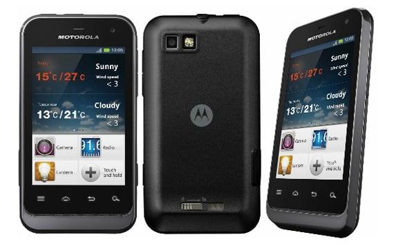 Motorola Defy Mini Android smartphone