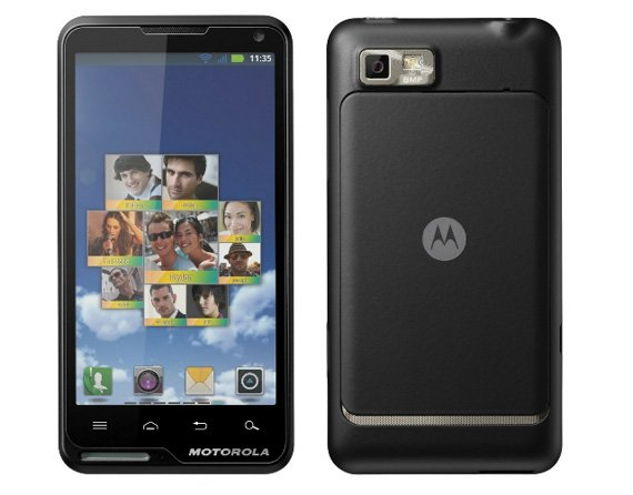 Motorola Motoluxe Android smartphone