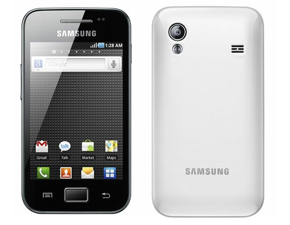 Samsung Galaxy Ace Android smartphone