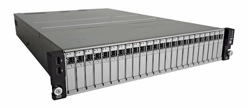 The UCS C24 M3 rack server